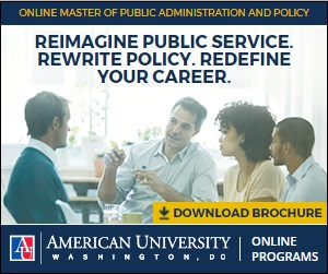 Online MPA at American University